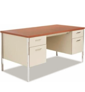Hirsh Double Pedestal Teacher Desk