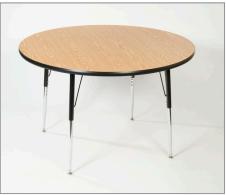 "Scholarcraft 48"" Round Activity Table"