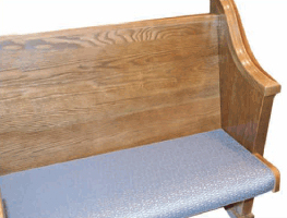 Pew Upholstery & Accessories